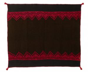 Manta, Acoma, circa 1860, 19th century classic pueblo textile blanket native american indian southwest antique