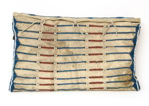 Possible Bag, Plains, circa 1840, 19th century classic period pony bead native american indian art for sale gallery museum consign buy sell