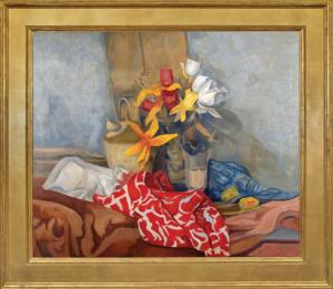 JE Thompson still life oil painting fine art for sale purchase buy sell auction consign denver colorado art gallery museum