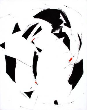 "Beatrice Mandelman, ""Flight #3"", acrylic, 1981"
