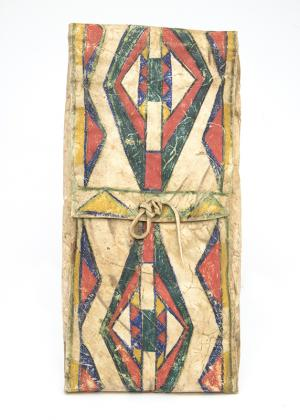 Parfleche Envelope, Crow, last quarter of the 19th century steer/cow hide northern plains native american indian antique vintage