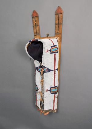 Cradleboard, Cheyenne, beadwork, circa 1875, plains native american indian art  for sale purchase consign sell auction art gallery museum denver colorado