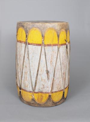 Drum, Pueblo, circa. 1900  for sale purchase consign auction art gallery museum denver