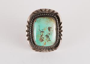 vintage old pawn navajo jewelry ring silver turquoise for sale purchase consign sell auction art gallery museum denver colorado