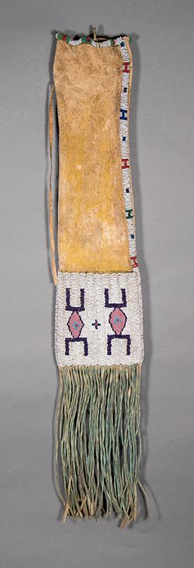 Tobacco Bag, Arapaho, circa 1870  for sale purchase consign auction art gallery museum denver