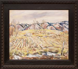 Elisabeth Spalding colorado landscape painting historic