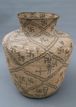 Olla, Apache, circa 1900 southwestern native american indian basket  purchase sale consignment auction denver colorado art gallery museum