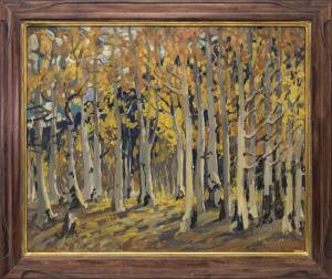 "Adma Green Kerr, ""Untitled"", oil for sale purchase consign auction denver Colorado art gallery museum"