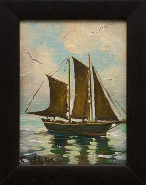 Caroline Bell, oil painting fine art for sale purchase buy sell auction consign denver colorado art gallery museum