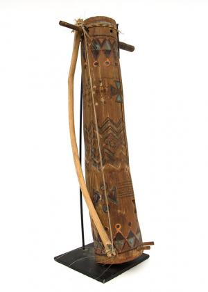 Apache Fiddle Amos Gustina 19th century Native American Indian antique vintage art for sale purchase auction consign denver colorado art gallery museum