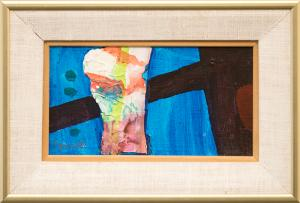 """Janet Lippincott, """"Untitled"""", mixed media painting fine art for sale purchase buy sell auction consign denver colorado art gallery museum"""