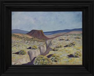 "Jozef Bakos, ""Near Taos (New Mexico)"", oil painting fine art for sale purchase buy sell auction consign denver colorado art gallery museum"