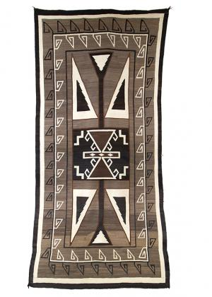 Vintage Navajo Trading Post Rug, circa 1910 19th century Native American Indian antique vintage art for sale purchase auction consign denver colorado art gallery museum