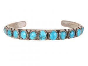 Native american old pawn bracelet navajo circa 1910 vintage for sale