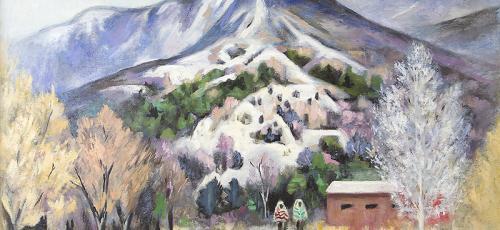 Georgina Klitgaard  (1893-1976) Sangre de Cristo Scene (Taos, New Mexico landscape)