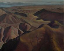 "Ross Eugene Braught, ""Colorado Canyons"", oil, c. 1932-36"