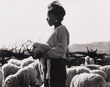 """Laura Gilpin, """"Little Shepherd Boy"""", photograph, 1933"""