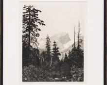 "George Elbert Burr, ""Road to Bear Lake, Estes Park (Colorado)"", etching painting fine art for sale purchase buy sell auction consign denver colorado art gallery museum"