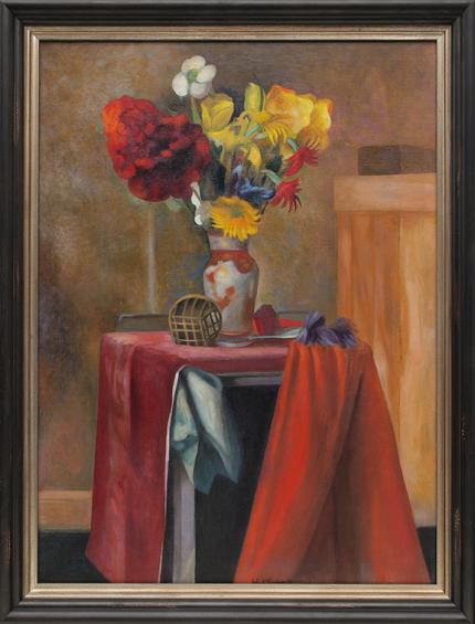 "John Edward Thompson, ""Untitled (Still Life)"", oil nting fine art for sale purchase buy sell auction consign denver colorado art gallery museum"