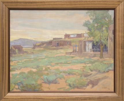 Allen Tupper True adobes colorado for sale purchase art gallery consignment auction for sale purchase art gallery consignment auction