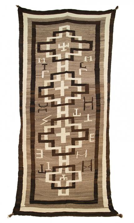 Navajo trading post rug weaving textile Native American Indian antique vintage art for sale purchase auction consign denver colorado art gallery museum