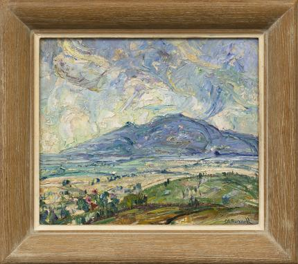 charles bunnell Mountain Landscape near Colorado Springs, Colorado 1925 oil painting fine art for sale purchase buy sell auction consign denver colorado art gallery museum