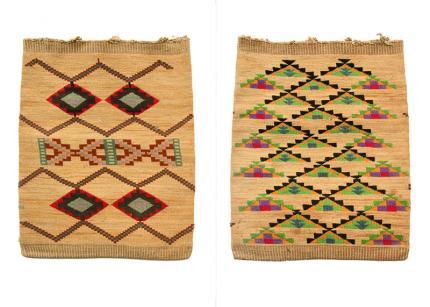 Cornhusk Bag, Nez Perce, circa 1920 19th century Native American Indian antique vintage art for sale purchase auction consign denver colorado art gallery museum
