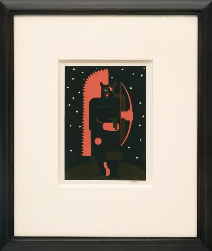 """Hilaire Hiler, """"Untitled"""", lithograph print painting for sale purchase consign sell buy Denver Colorado art gallery museum auction historic antique old"""