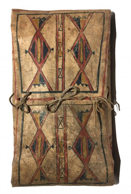 Envelope, Blackfeet, circa 1875 19th century Native American Indian antique vintage art for sale purchase auction consign denver colorado art gallery museum