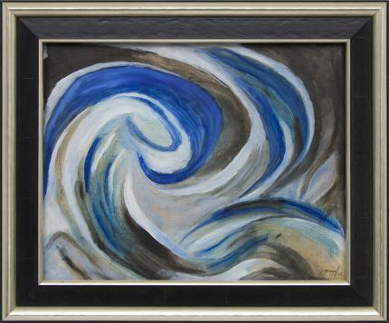 "Charles Ragland Bunnell, ""Untitled"", oil painting fine art for sale purchase buy sell auction consign denver colorado art gallery museum"