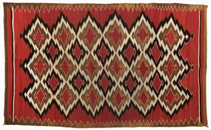 Navajo woven transitional blanket Native American Indian antique vintage art for sale purchase auction consign denver colorado art gallery museum