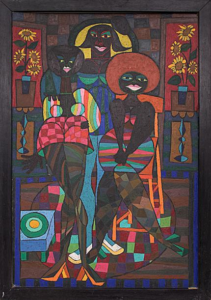 "Edward Marecak, ""Judgement of Paris"", oil painting fine art for sale purchase buy sell auction consign denver colorado art gallery museum"