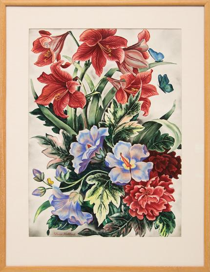 Vance kirkland Still life flower painting fine art for sale purchase buy sell auction consign denver colorado art gallery museum