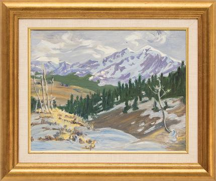 william bancroft colorado landscape denver artist guild for sale purchase consign