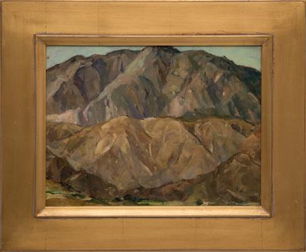 "Nellie Knopf, ""Mountain Study near Ziuapau Mexico"", oil, circa 1940 painting fine art for sale purchase buy sell auction consign denver colorado art gallery museum"