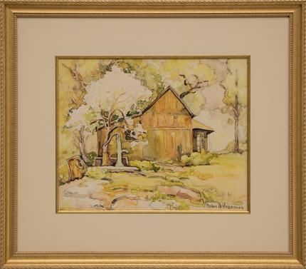 "Helen Brooks Hagerman, ""Untitled"", watercolor, circa 1930-1950 painting fine art for sale purchase buy sell auction consign denver colorado art gallery museum"