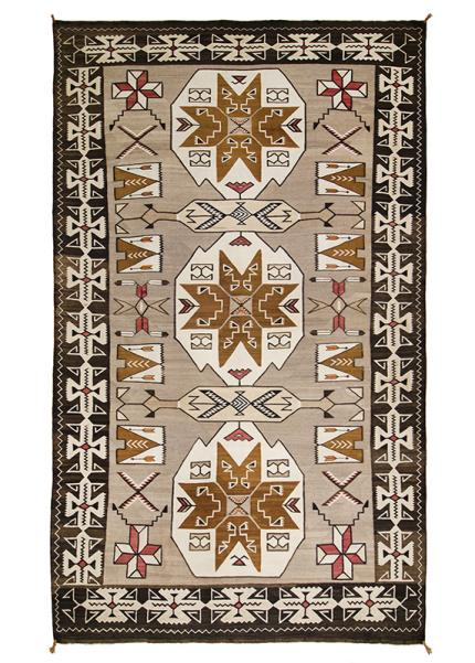 Trading Post Rug, Navajo, circa 1900-1925 19th century Native American Indian antique vintage art for sale purchase auction consign denver colorado art gallery museum