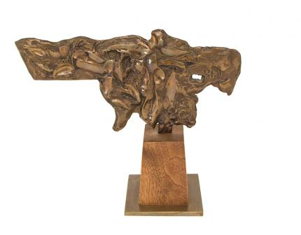 "Edgar Britton, ""Untitled"", bronze fine art for sale purchase buy sell auction consign denver colorado art gallery museum"