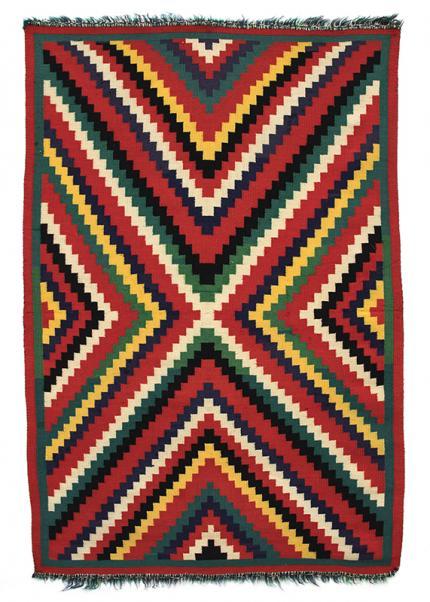 Vintage navajo germantown blanket eyedazzler  19th century Native American Indian antique vintage art for sale purchase auction consign denver colorado art gallery museum