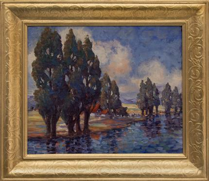 Gene Kloss California painting fine art for sale purchase buy sell auction consign denver colorado art gallery museum DCG-24308