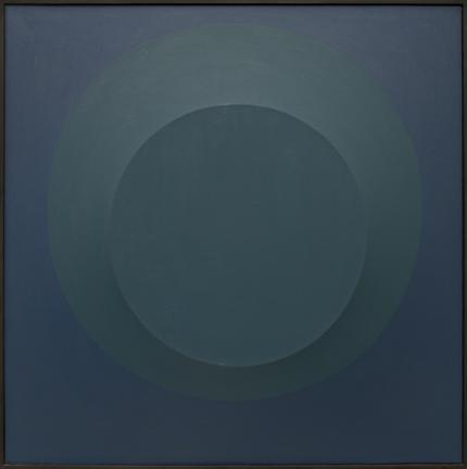 """Angelo Di Benedetto, """"Blue On Blue #1"""", acrylic, 1965 painting fine art for sale purchase buy sell auction consign denver colorado art gallery museum"""