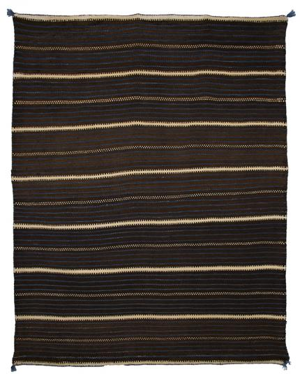 Moki Blanket, Zuni, third quarter of the 19th century 19th century Native American Indian antique vintage art for sale purchase auction consign denver colorado art gallery museum