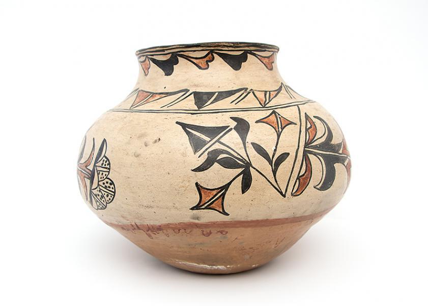 Pueblo pottery southwest antique large