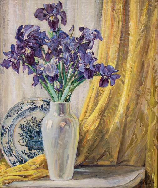 Josef Imhof new mexico western painting flower