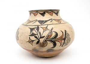 San Ildefonso pueblo pottery jar olla Martina & Florentino (Martina Vigil 1856-1916 & Florentino Montoya 1858-1918)  19th century Native American Indian antique vintage art for sale purchase auction consign denver colorado art gallery museum