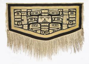 Chilkat Blanket, Tlingit, circa 1880 Northwest Coast Alaska  19th century Native American Indian antique vintage art for sale purchase auction consign denver colorado art gallery museum