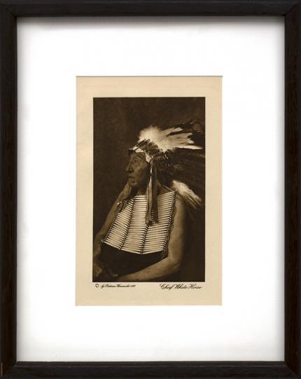 Joseph Dixon photogravure, The Final Trail, vintage, wanamaker, antique photo, Sioux, Cheyenne, Vanishing Race, Feather Bonnet, horse, Plains Indian