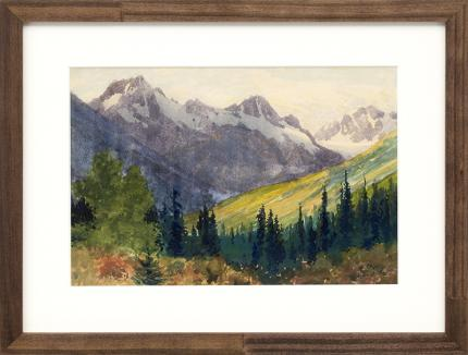 Charles Partridge Adams, Colorado Mountain Landscape painting, for sale, circa 1910, art